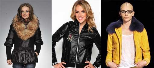 женских курток 2012 года изобилуют