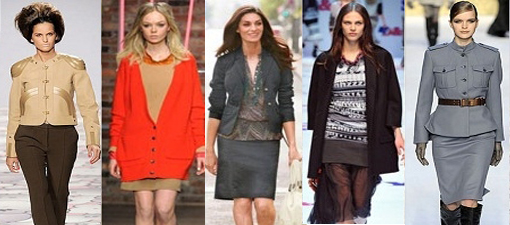 Осенняя мода 2012
