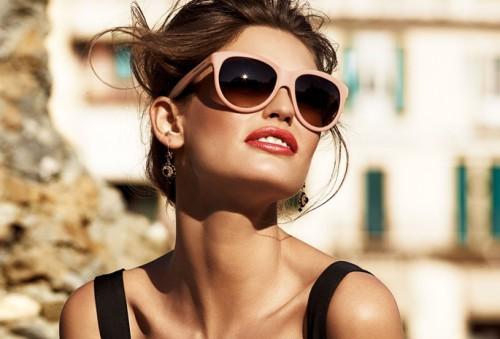 Очки как аксессуар для девушки
