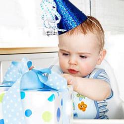 Отмечаем день рождения малыша в кафе